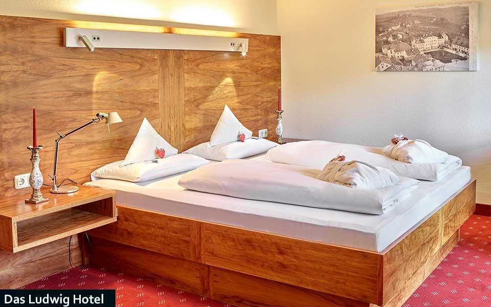 Schlafzimmer Grand Suite - Quellness Golferlebnis