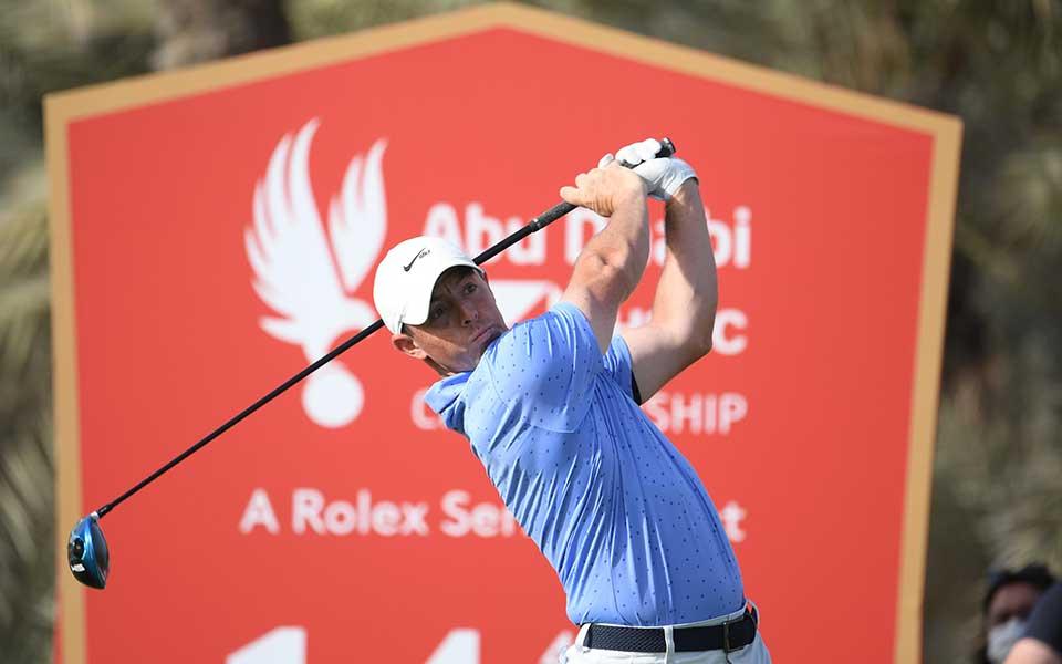 Rory McIlroy, Abu Dhabi HSBC Championship