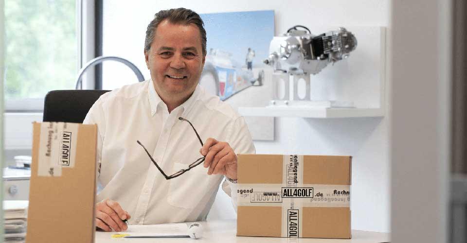 Stefan Kirste, Geschäftsführer All4Golf
