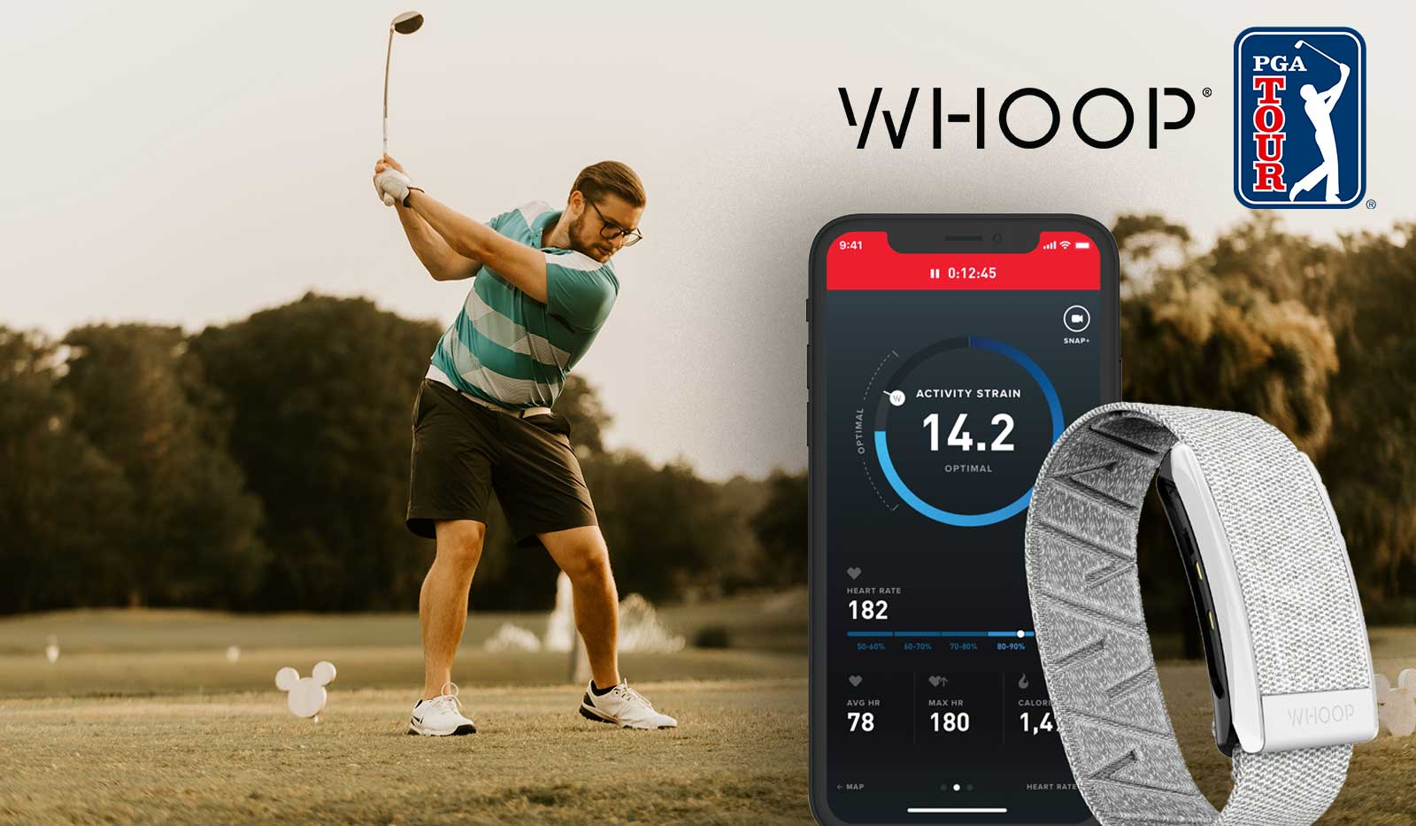 Golf Fitness-Tracker WHOOP