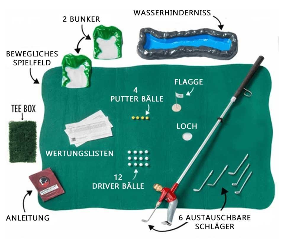 Golf-Tiger Golf Set