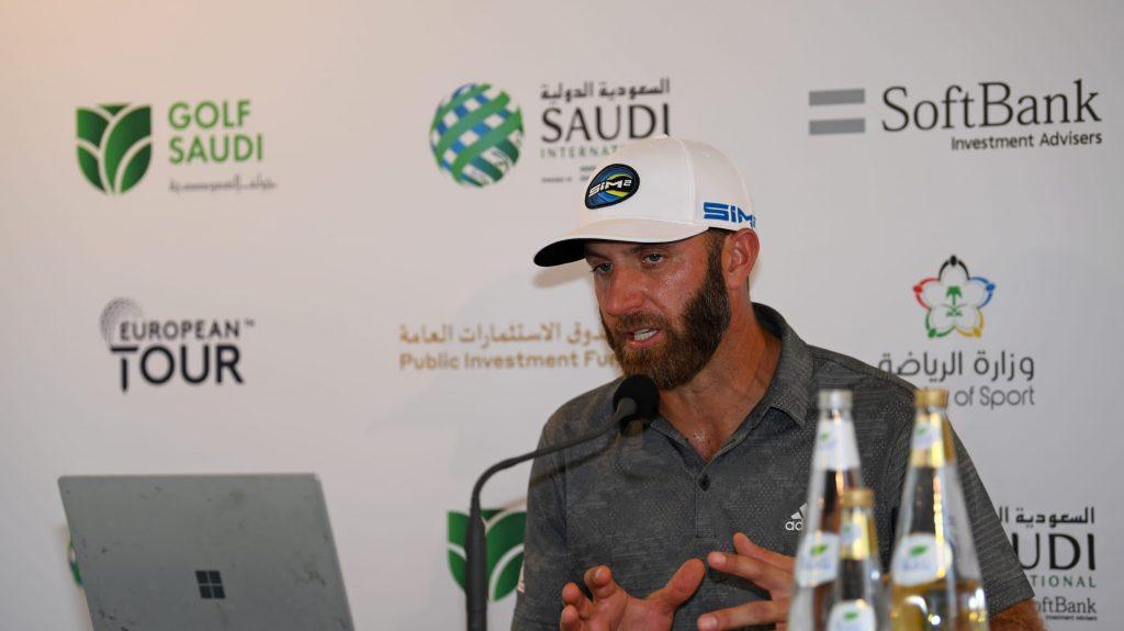 Dustin Johnson 1024x575 - Saudi International  – David Horsey vorne, DeChambeau und Co. dicht dahinter