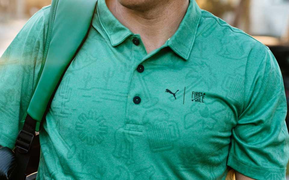 First Mile Kollektion Polo PUMA Golf