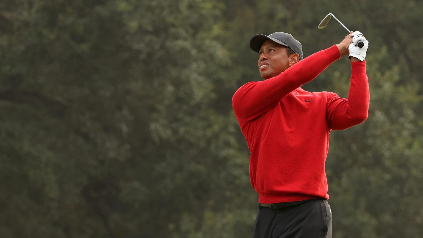 tiger swing 1694 getty - Tiger Woods aus dem Krankenhaus entlassen