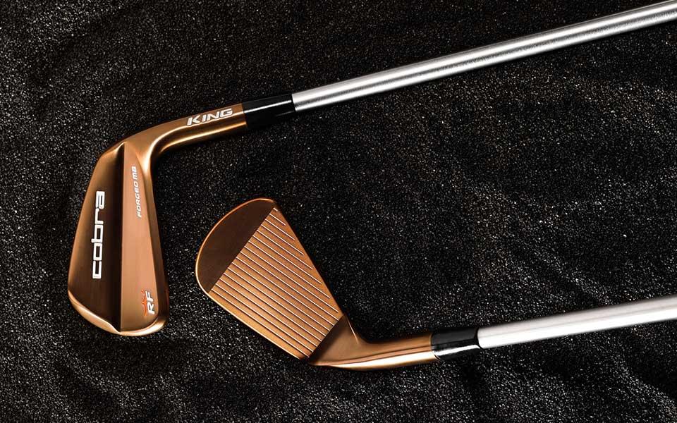 COBRA Golf KING RF Forged MB Copper Eisen