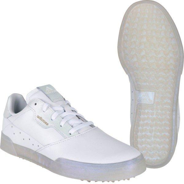 adidas Golfschuh Adicross Retro weiß