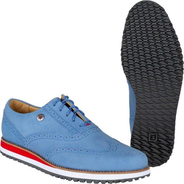 FootJoy Golfschuh Sport Retro blaurot