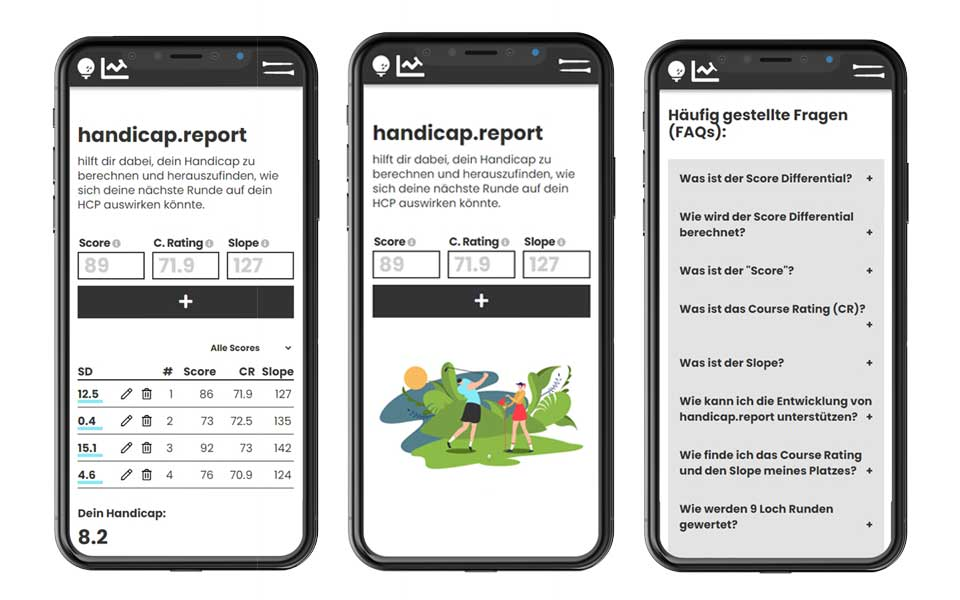 handicap.reporter App