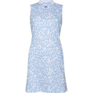 J. LINDEBERG Kleid Nena Print blau