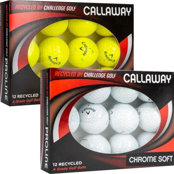Lakeballs Callaway Chrome Soft