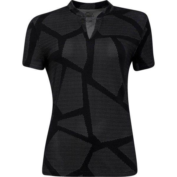 Nike Golf Poloshirt Breathe kurzarm schwarz