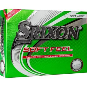Srixon Soft Feel Herren Golfbälle 2021 weiß