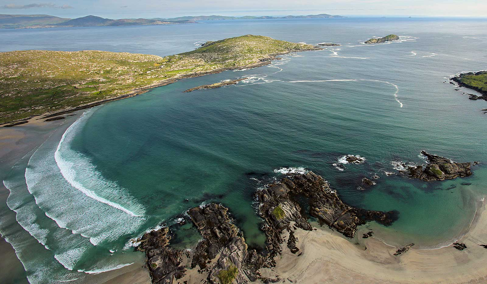 Irland, Ring of Kerry Panorama