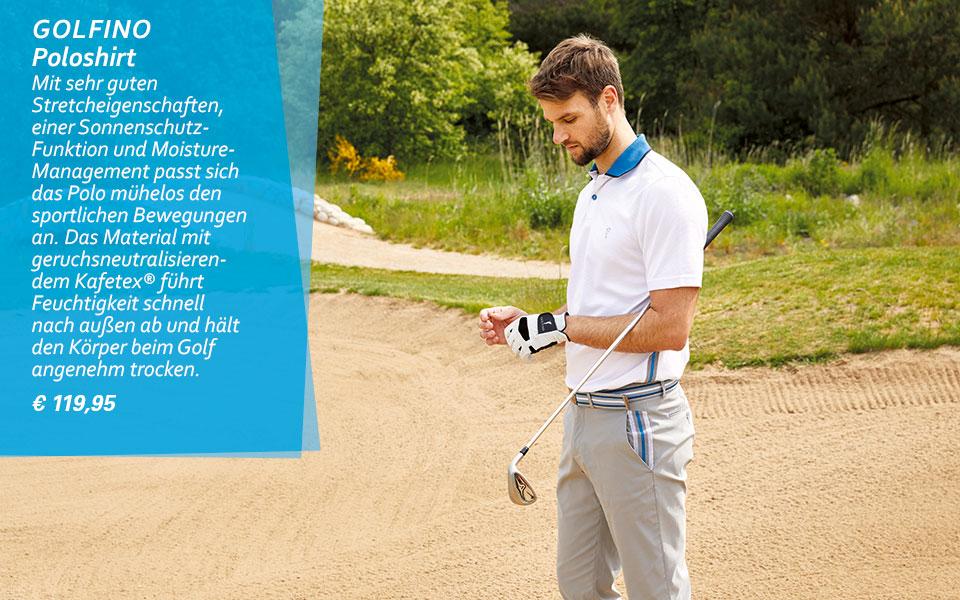 Golfino Kollektion Performance Trend Wave