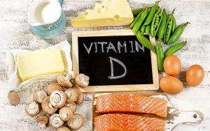 Vitamin D reiche Lebensmittel