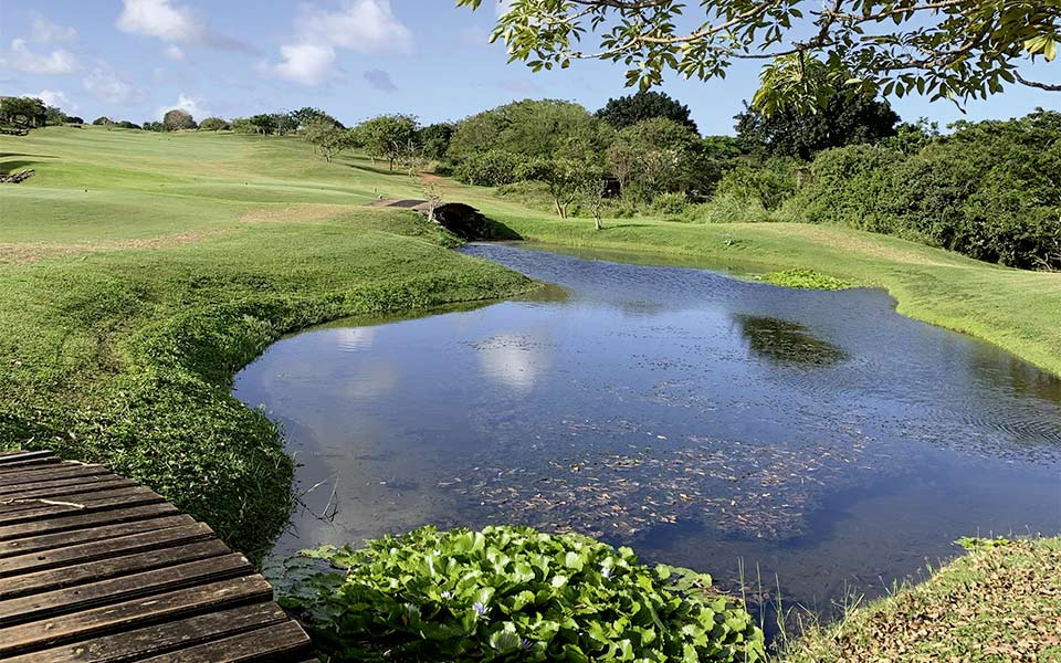 Kenia Golf Vipingo Ridge Golfplatz