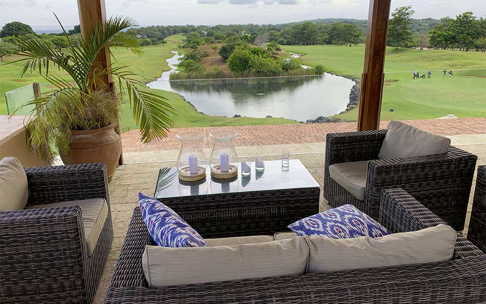 Kenia Golf Vipingo Ridge Clubhaus Ausblick