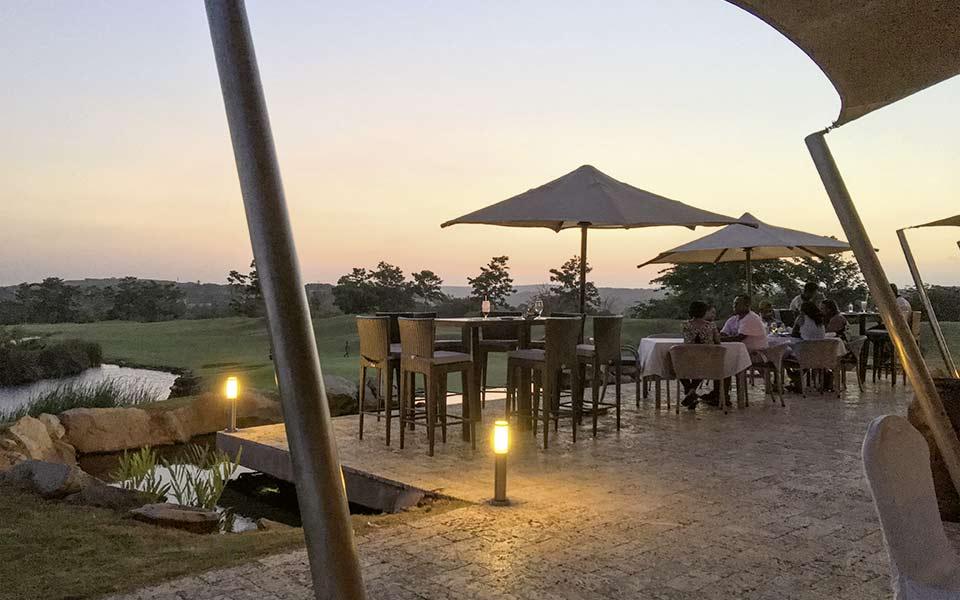 Kenia Golf Vipingo Ridge Terrasse