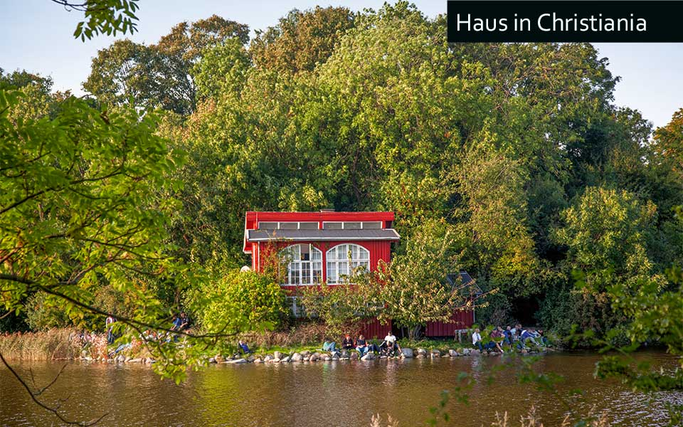 Christiania house Kim Wyon - Golf City Guide Kopenhagen