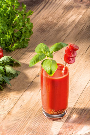 Collagen Drink Tomate-Sellerie-Smoothie
