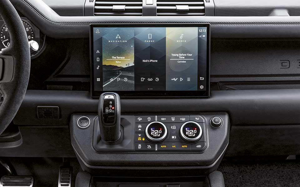 Defender Innenausstattung - Der Klassiker kehrt zurück – Land Rover Defender