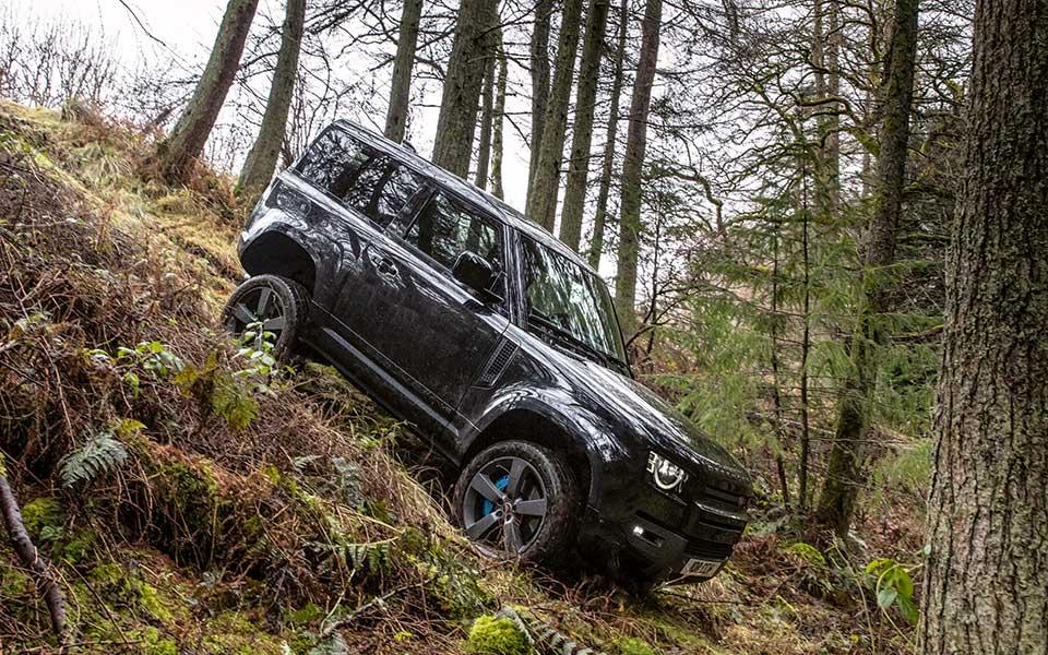 Defender Offroad - Der Klassiker kehrt zurück – Land Rover Defender