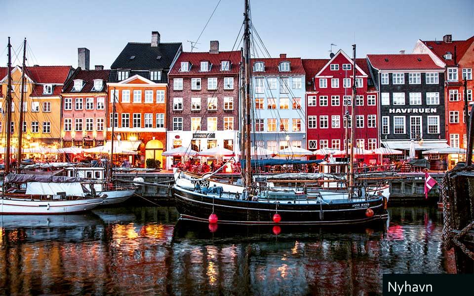 Nyhavn Kim Wyon - Golf City Guide Kopenhagen