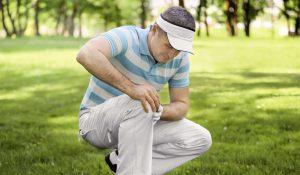 Golfer Knieschmerzen