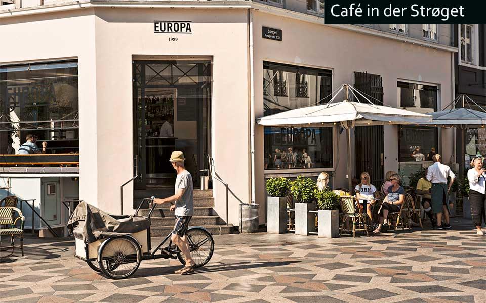 Stroeget Cafe Europa Robin Skjoldborg - Golf City Guide Kopenhagen