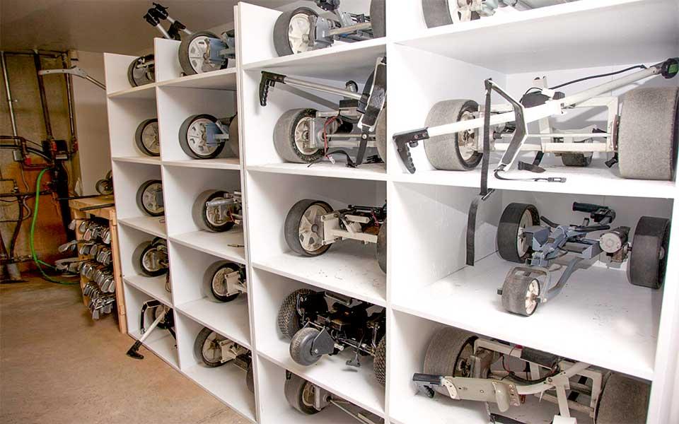 Trolleys - Sauber spielt besser – Equipmentpflege