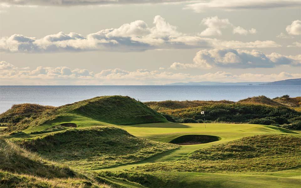 Ayrshire Schottland Golfplatz Old Troon
