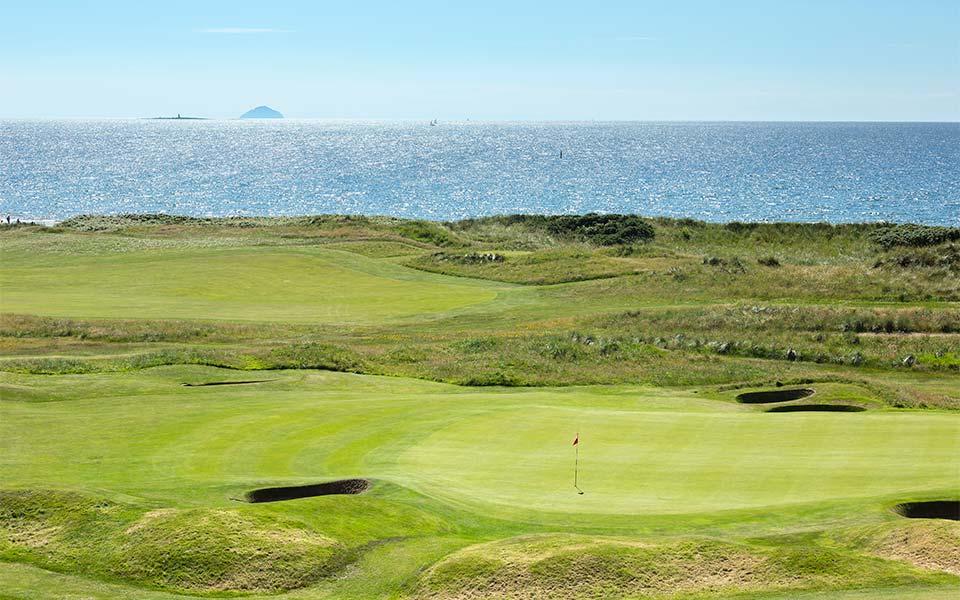 Ayrshire Schottland Western Gailes Golf