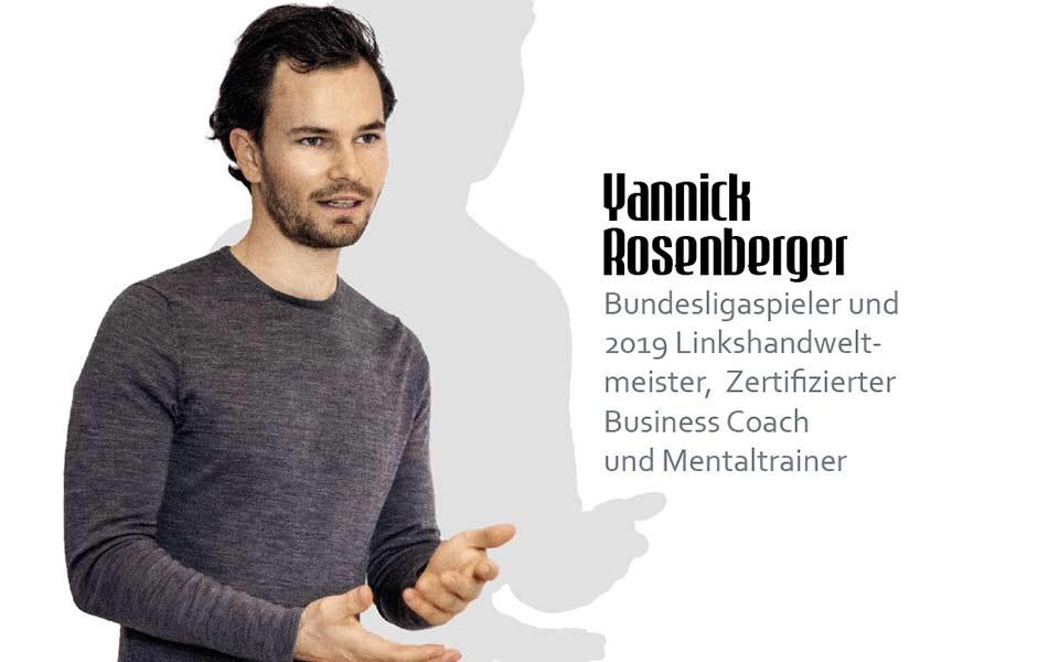 Golf-Mentaltrainer Yannick Rosenberger
