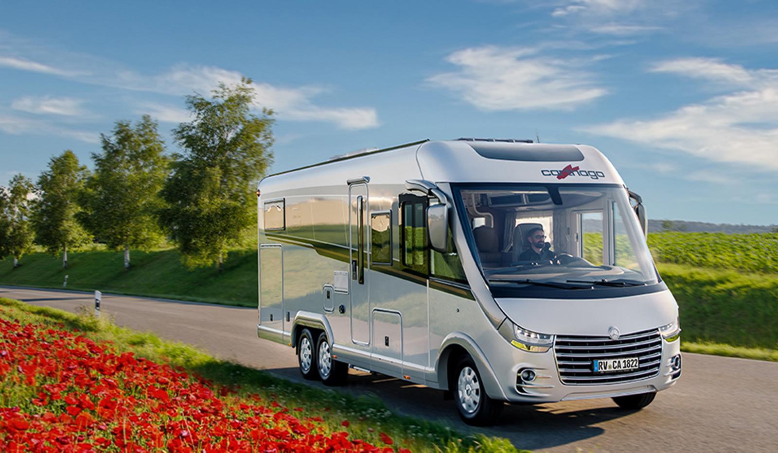 e line carthago - Gewinnen Sie ein Wochenende im Premium-Reisemobil! Jetzt Online-Befragung mitmachen.