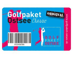 Golfpaket Ostsee Karte