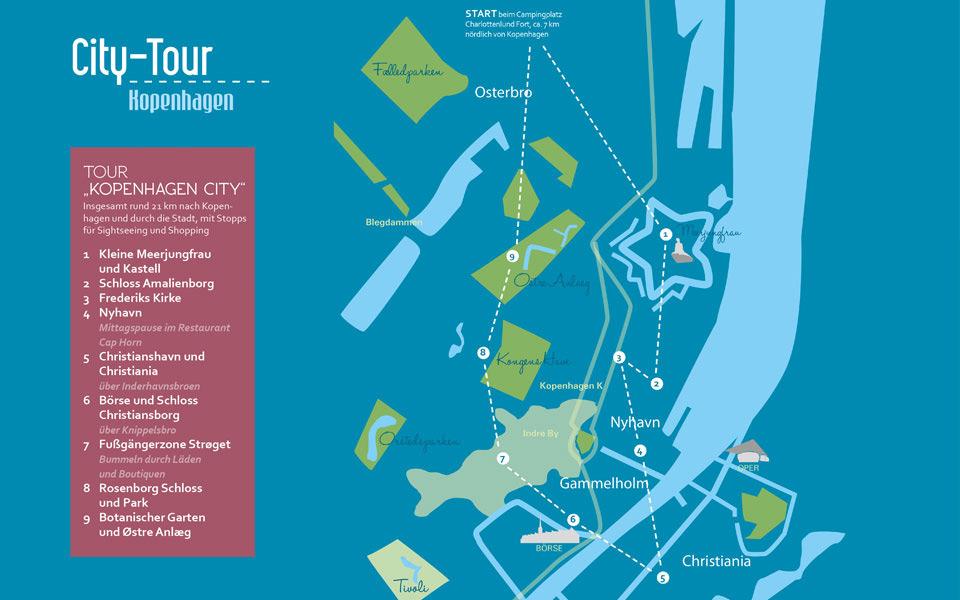 kopenhagen city tour - Golf City Guide Kopenhagen