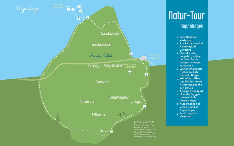 kopenhagen natur tour - Golf City Guide Kopenhagen