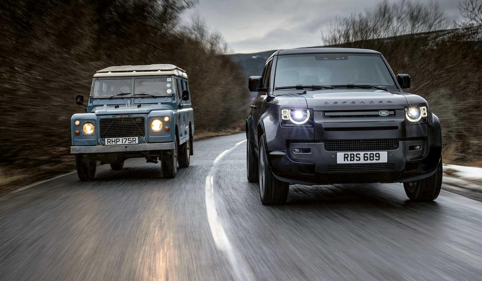 landrover defender - Der Klassiker kehrt zurück – Land Rover Defender