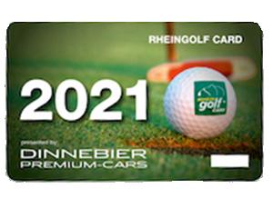 Greenfee sparen Rheingolf Card