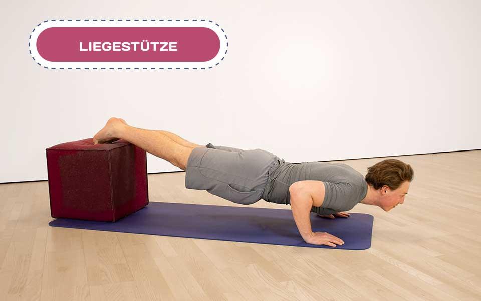trainathome liegestuetze2 - Train @ home – Rumpf-Workout
