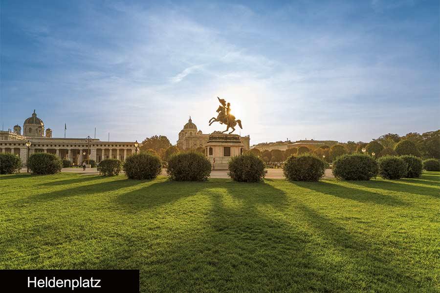 Golf City Guide Wien Heldenplatz