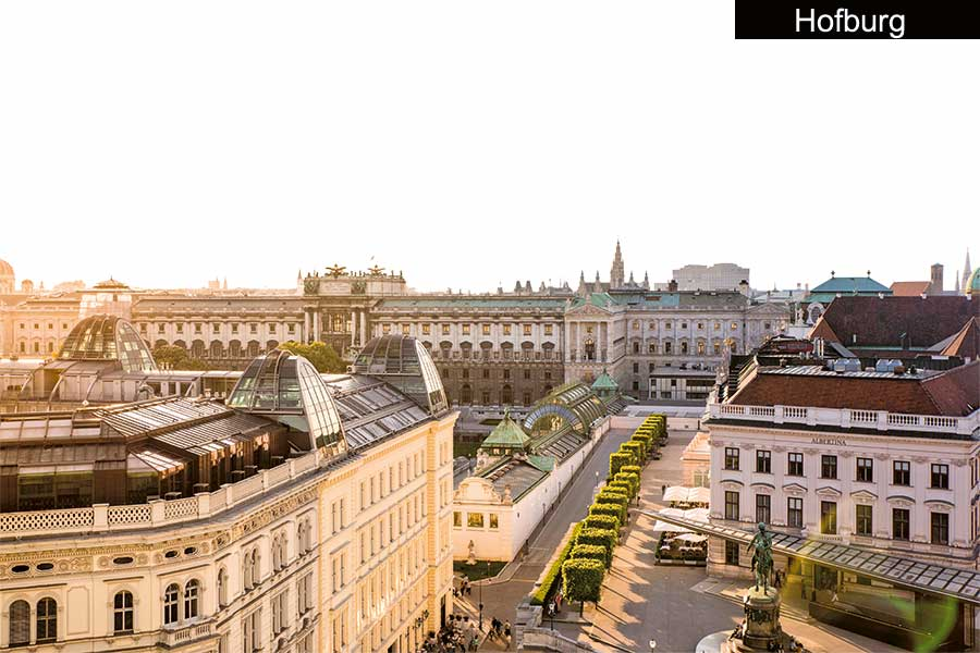 Golf City Guide Wien Hofburg
