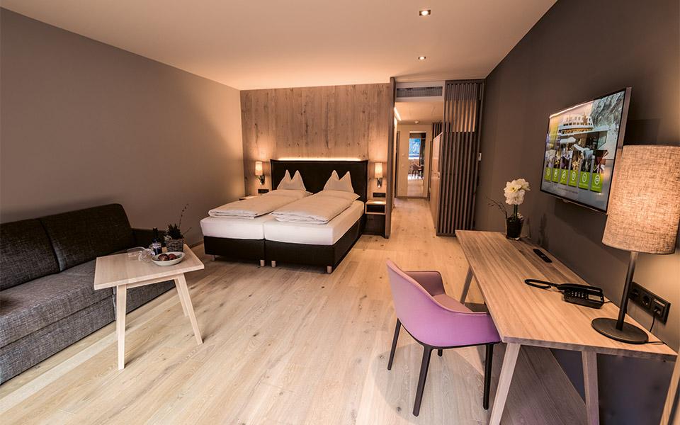 Hotel Traube Braz zimmer - Golf in Austria – Golfprofis für Euren Golfurlaub in Österreich