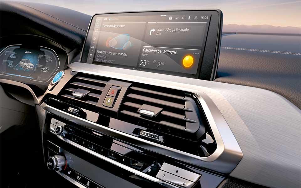 bmw i cockpit - BMW iX3 – Lass Dich elektrifizieren