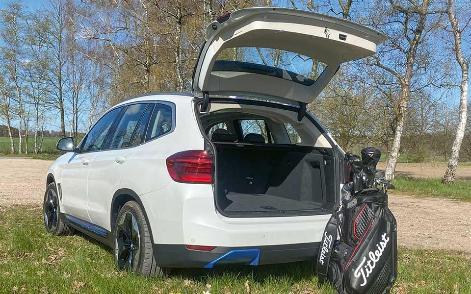 bmw i golfbag - BMW iX3 – Lass Dich elektrifizieren