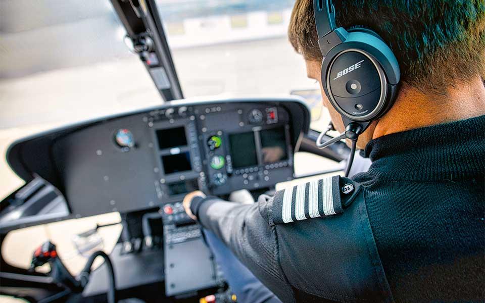 heligolf cockpit - Heligolf – Wer wird denn gleich in die  Luft gehen?