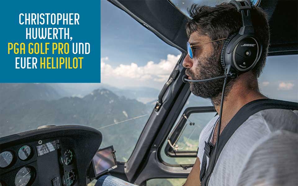 heligolf pilot - Heligolf – Wer wird denn gleich in die  Luft gehen?