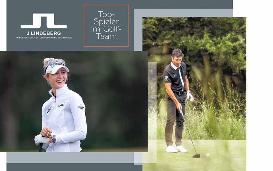jlindeberg ambassadors golf - Sportlicher Scandi-Style – J. Lindeberg Sommerkollektion 2021