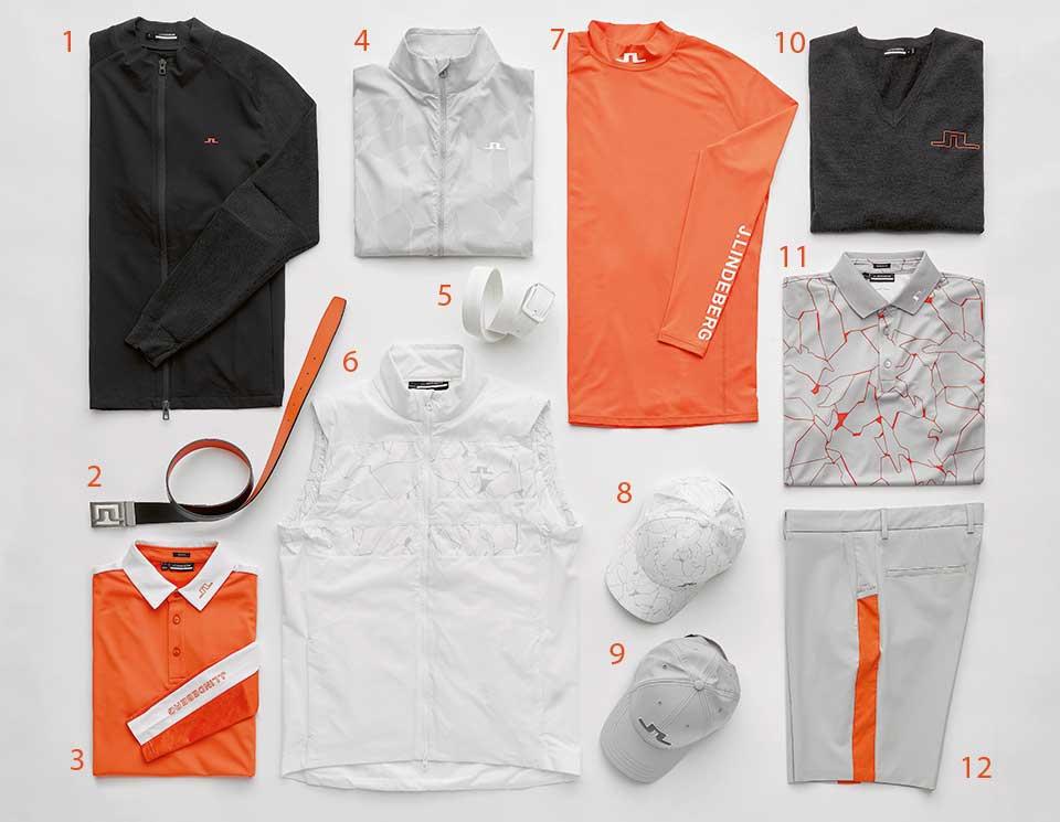 jlindeberg orange - Sportlicher Scandi-Style – J. Lindeberg Sommerkollektion 2021