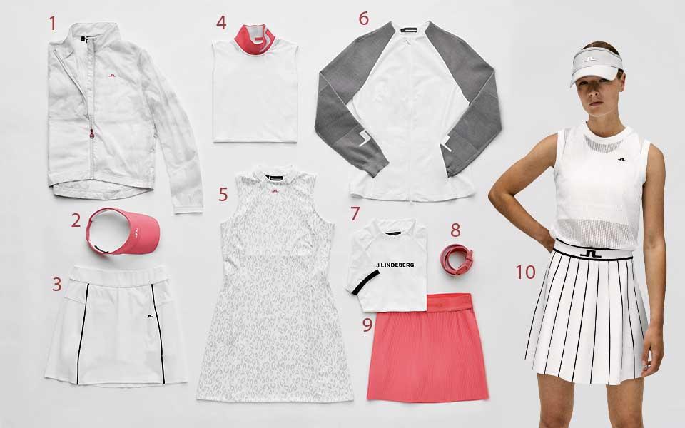 jlindeberg pink - Sportlicher Scandi-Style – J. Lindeberg Sommerkollektion 2021